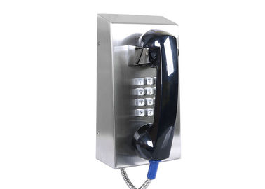 China Stainless Steel IK10 Prison Telephone Vandal Resistant Telephone IP55-IP65 For Public factory