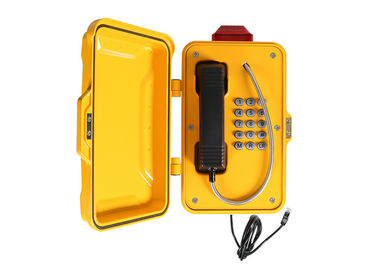 China Industrial Weatherproof Emergency Phone , Emergency Call Box IP66-IP67 With Light factory