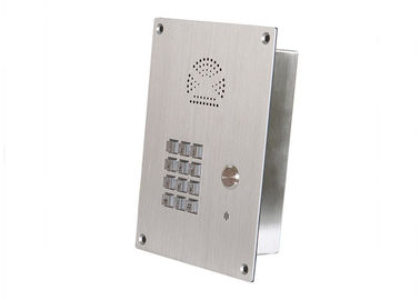 China Stainless steel Elevator Emergency Phone Analogue Handsfree Hotline Emergency Type distributor
