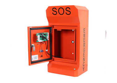 China Highway Roadside Emergency Phone Call Box Cold Rolled Steel Vandal Resistant factory