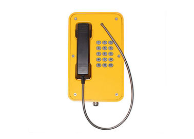 China Full Keypad Industrial Weatherproof Telephone Holder Outdoor Analog Marine Type factory