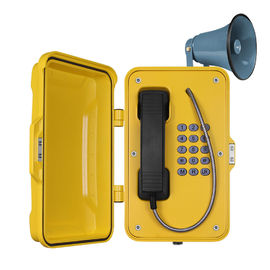 China Out Door SOS Industrial Weatherproof Telephone With Full Keypad In OEM factory