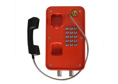 China Mining / Tunnel Heavy Duty Telephone Explosion Proof IP67 In Harsh Environment factory