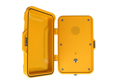 China Emergency Intercom Industrial Weatherproof Telephone Audiocodec Main Chip For Highway distributor