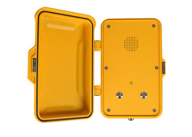 China IP67 Outdoor Emergency Industrial VoIP Phone SIP Intercom Simple Installation For Tunnel factory