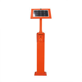 China Pillar Mounting Emergency Phone Tower Outdoor GSM / 3G / Wireless Solar Powered distributor