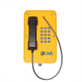 China SIP2.0 Waterproof Emergency Phone , 75-90db Industrial Telephone With Keypad distributor