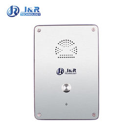 China Rugged Analog Hands Free Telephone, Outdoor Emergency Call Box with Stainless Steel Enclosure distributor