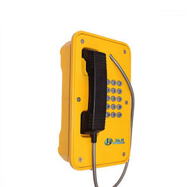 China Aluminum Alloy Waterproof Emergency Phone Full Keypad 12-24V DC Support Sip Voip factory