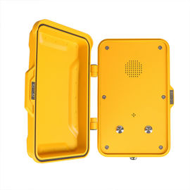 China Railway Outdoor IP67 Industrial Weatherproof Telephone Wall / Pillar Mounted factory