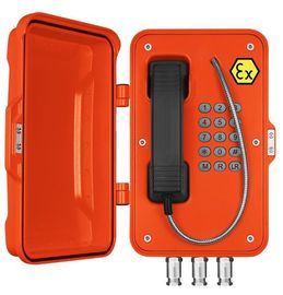 China Die Cast Aluminium Explosion Proof VoIP Phone IP66-IP67 For Voice Communication distributor
