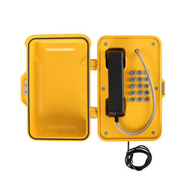 China VoIP Industrial Weatherproof Telephone 75-90db Ringing Volume 2 Years Warranty distributor