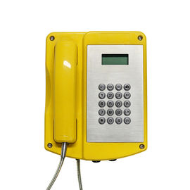 China Customized Explosion Proof Telephone , Vandal Resistant Phone 2 Years Warranty distributor