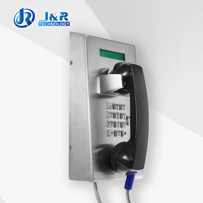 Robust Prison Telephone , public emergency telephone with LCD Display